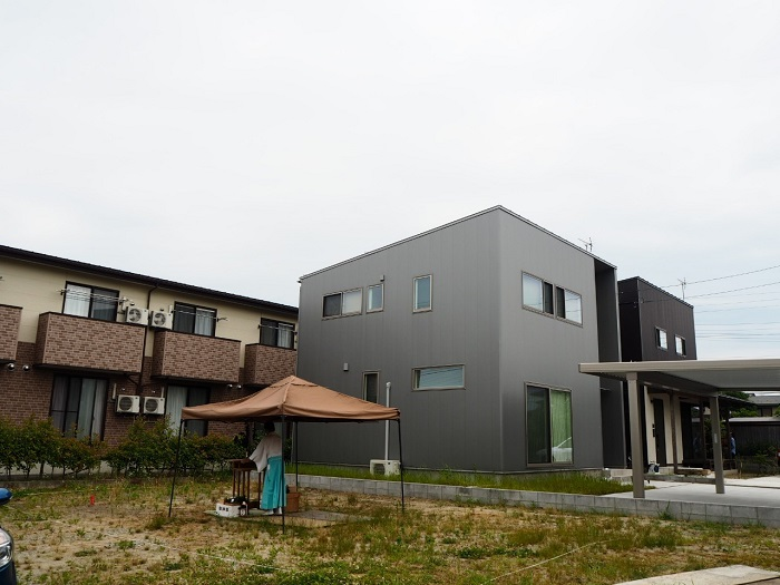 新発田市の連棟