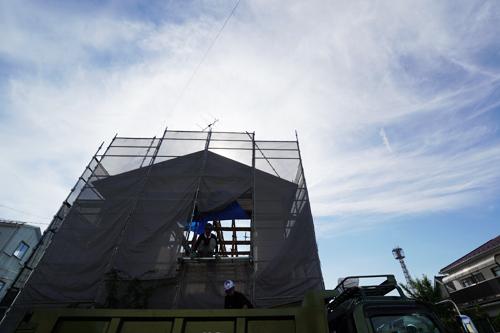 二階建てを平屋にリノベーションプロジェクト