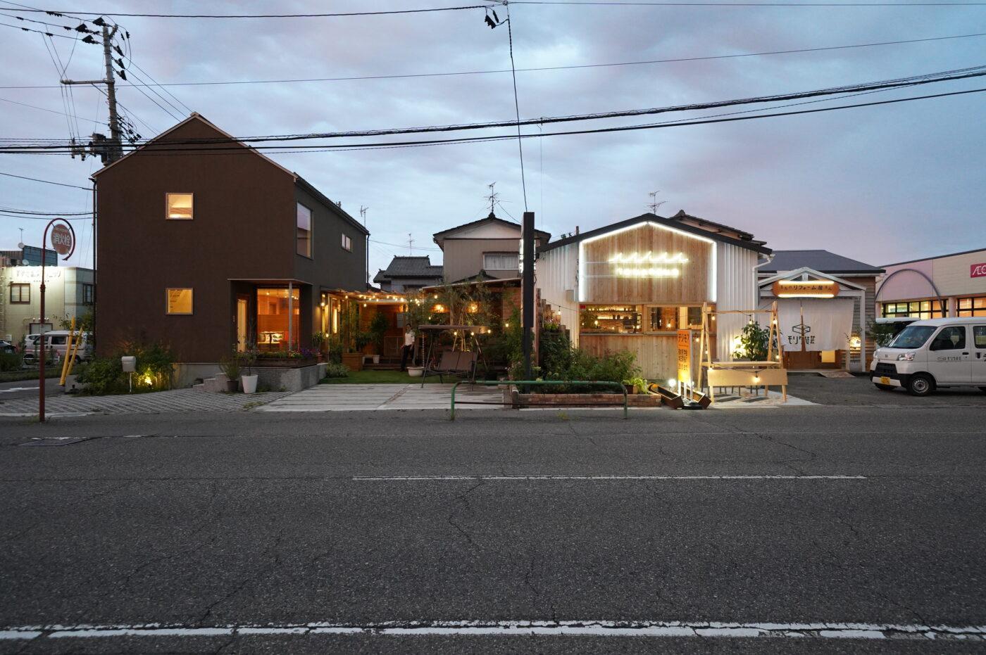 《夜の見学会》新潟市西区  小針モデルハウス